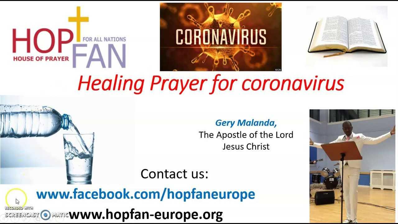 Healing Prayer for Corona Virus